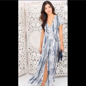 VICI True Wrap Maxi Dress